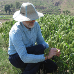 Martin Jones With Millet In North China