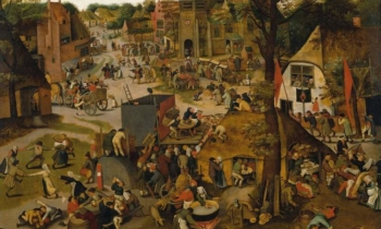 Brueghel The Younger Village Festival Fitzwilliam Museum