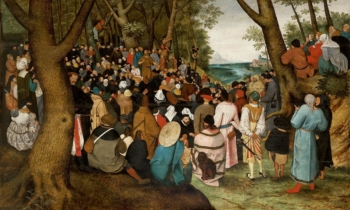 Pieter Brueghel The Younger Preaching